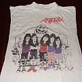 Anthrax - TShirt or Longsleeve - Anthrax indians white t-shirt vintage