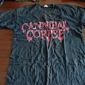 Cannibal Corpse - TShirt or Longsleeve - Cannibal Corpse - Monolith of death tour 96