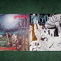 Baphomet - Tape / Vinyl / CD / Recording etc - Baphomet the dead shall inherit /Banished deliver me unto pain vinyl