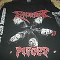 """Dismember - TShirt or Longsleeve - Dismember-""""Pieces"""" Vintage LS Tour Shirt 93"""