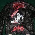 Destruction - TShirt or Longsleeve - destruction leather jacket