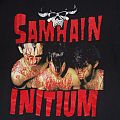 "TShirt or Longsleeve - SAMHAIN ""Initium-Death Dealer"" original double sided 1990 Brockum shirt"