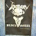 Venom - Patch -  VENOM black  metal back patch