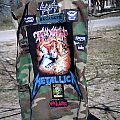 Slayer - Battle Jacket - Thrasho's updated Kutten back.