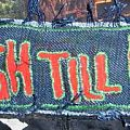 - selfmade patch THRASH TILL DEATH
