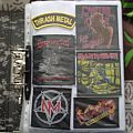 Slayer - Patch - My patches collection + patches bags with pins!