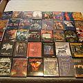 My oficial DVD Collection + a few bootleg dvd's