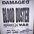Australian gig flyer circa. 1992/1993