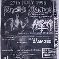 Australian gig flyer 1996 Other Collectable