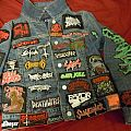 Denim - Battle Jacket - My denim redone! Also patches to add and my bag