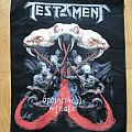 Testament - brotherhood of the snake backpatch
