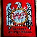 Slayer - Patch - Slayer 2004 - Seasons in the Abyss patch (silver/red/black)