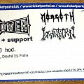 Bolt Thrower - Other Collectable - Bolt Thrower ticket - Prague 2014