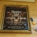 Other Collectable - Tour poster - My Dying Bride, Paradise Lost, Anathema , SIGNED