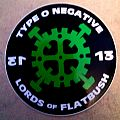 """Other Collectable - Type o negative sticker """"Lords of Flatbush"""" official blue grape"""