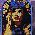 King Diamond - Fatal Portrait Bootleg Patch