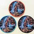 """HELLOWEEN """"Better Than Raw"""" Round Woven Patch"""