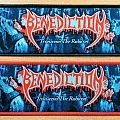 "BENEDICTION ""Transcend The Rubicon"" Stripe Woven Patch"