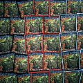 """IRON MAIDEN """"Death On The Road"""" Woven Patches"""
