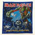 IRON MAIDEN - The Final Frontier Blue Border Woven Patches