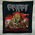CANCER - The Sins of Mankind Original Woven Patch (1993)