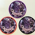 """DISMEMBER """"Where Ironcrosses Grow"""" Round Woven Patch"""