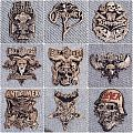 Various Metal Pins Badge