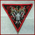 Slayer - Goat Skull Triangle Patches