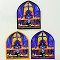 """NUM SKULL """"Ritually Abused"""" Woven Patches"""