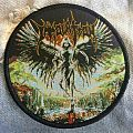 "IMMOLATION ""Atonement"" Round Woven Patches"