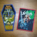 "Sodom - Patch - IRON MAIDEN ""Powerslave"" Coffin Patch and SODOM ""In The Sign of Evil"" Patch"