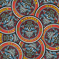 Iron Maiden - Patch - IRON MAIDEN - Senjutsu Round Woven Patches