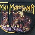 "MANOWAR ""Into Glory Ride"" Shield Woven Patch"