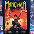 Manowar - The Triumph of Steel Backpatch