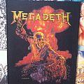 Megadeth - vintage 1987 Backpatch