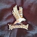 "Immortal ""Logo"" and Raven Die Cast Metal Pin Other Collectable"