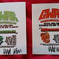 GWAR Orgasmageddon Promo Flyers Other Collectable