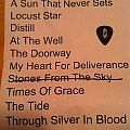 Neurosis Set-List & Pick Other Collectable
