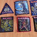 Iron Maiden patches 80's for trade