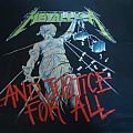 Metallica - And Justice for All shirt