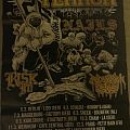 Terror European Spring tour 2015 Poster (The 25th Hour)