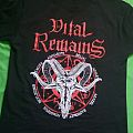 Vital Remains - TShirt or Longsleeve - Vital Remains European Tour Shirt 2017