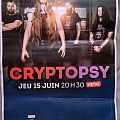 Cryptopsy - Other Collectable - Cryptopsy Poster signed