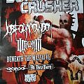 Job For A Cowboy - Other Collectable - Poster Bonecrusher Fest 2013 w/ Job for a Cowboy, War From a Harlots Mouth,...