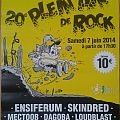 Ensiferum - Other Collectable - Poster Plein Air de Rock 20th edition