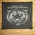 Nadimac - Metal Je Rat Patch