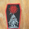 "Surrender of Divinity "" Elephagoat"" Woven Patch"