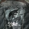 Warning - Battle Jacket - DIY jacket