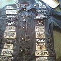 Homemade Patches Battle Jacket