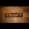 Accept - Patch - Accept strip Patch